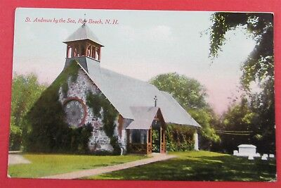 St. Andrews By The Sea, Rye Beach, NH Postcard (#3529)