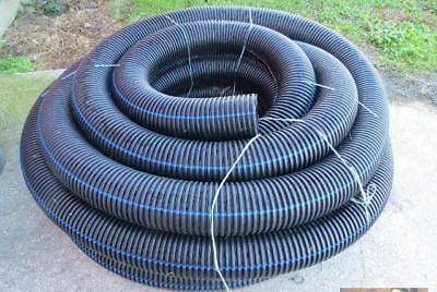 "100 Ft Roll Corrugated Perforated 6"" Drain Flex Pipe drainage"