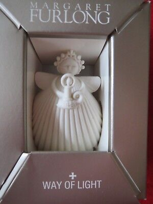 Margaret Furlong  WAY OF LIGHT Angel Bisque Porcelain Ornament