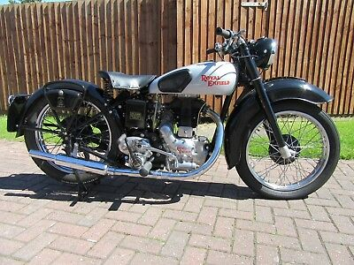 ROYAL ENFIELD Model G 1947. Now SOLD to Tom and awaiting payment