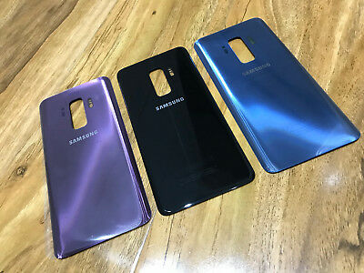 NEW - Samsung Galaxy S9 S9+ Plus Back Rear Replacement Door Glass Battery Cover