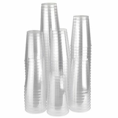 Plastic Crystal Clear 12oz disposable Tumblers Cups Drink Cup Wedding Party