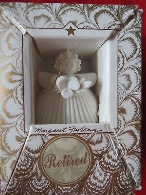 Margaret Furlong  VIOLA Bisque Porcelain Angel Ornament