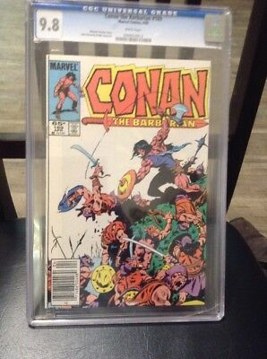 Conan the Barbarian #169  CGC 9.8 Case Is Cracked