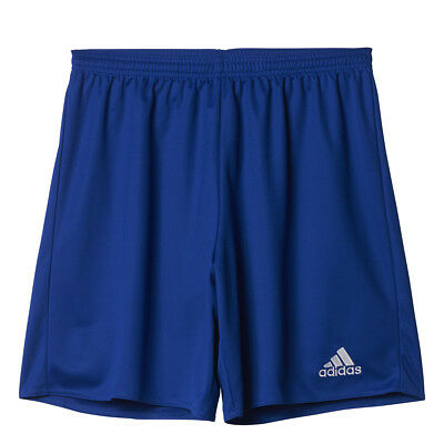 Men's Adidas Parma 16 Soccer Shorts Bold Blue/White