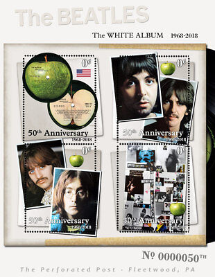 Beatles -White Album 50th Anniv Tribute - (Cinderella, Artistamp, Faux Postage)