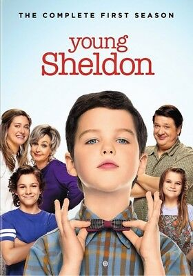 Young Sheldon: The Complete First Season (DVD,2018)