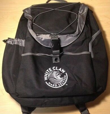 White Claw Hard Seltzer Insulated Cooler Backpack Bag - Great Condition