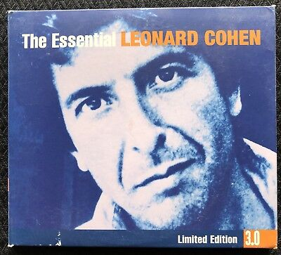 The Essential Leonard Cohen Limited Edition 3CD Set Greatest Hits Best Of