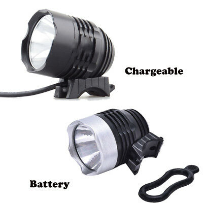 1Pc LED Rechargeable Bycicle Front Light Bike Headlight Cycling Flashlight
