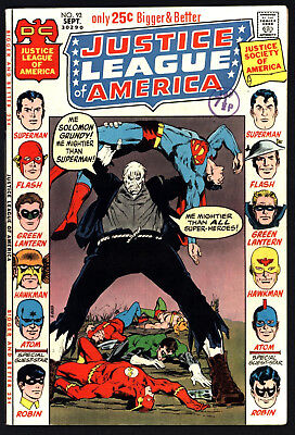 Justice League Of America #92, Sept 1971, Glossy Cents Copy, Great White Pages!