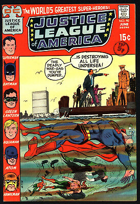Justice League Of America #90,  Jun 1971, Very Glossy Cents Copy!