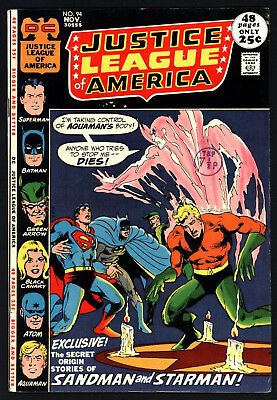 Justice League Of America #94, Nov 1971, Glossy Cents Copy/ Great White Pages!