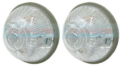 Pair Of Hella Clear Front Top Marker Lights Lamps Autocruise Autotrail Motorhome