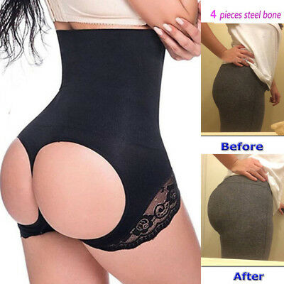 c662032b9f Women s Tummy Control Booty Butt Lifter Enhancer Bum Body Shaper Girdle  Pants AU