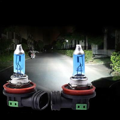 H11 12V 100W 55W Xenon White 6000k Halogen Blue Car Head Light Lamp Globes Bulbs