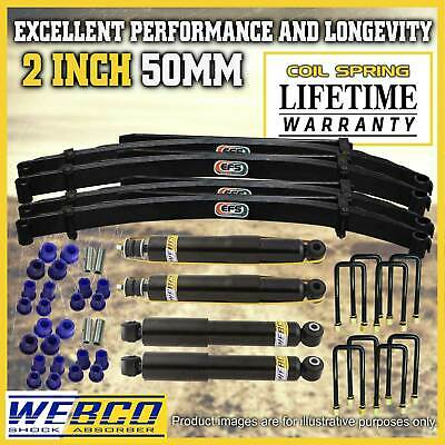 Suzuki Sierra SJ410 SJ413 2 Inch Lift Kit Webco Shock Absorbers EFS Leaf Springs