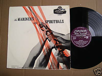 The Mariners - Sing Spirituals - Lp - London 1956