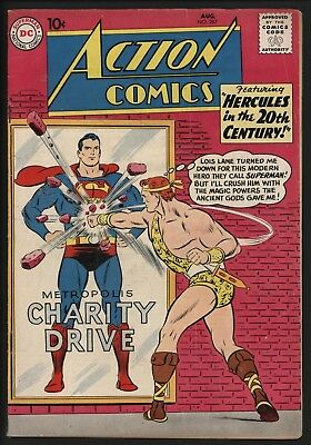 ACTION COMICS #267, FN-, 3rd EVER LEGION! GLOSSY CENTS COPY NICE PAGE QUALITY