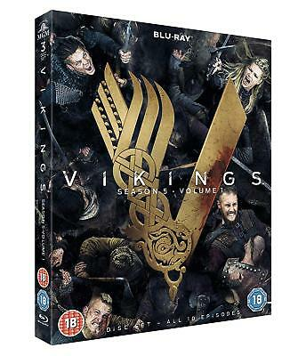 Vikings Season 5 Volume 1 [3x Blu-ray] *NEU* Series Staffel Fünf ENGLISCH