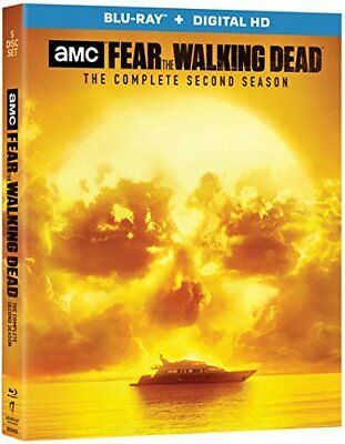 Fear The Walking Dead 2nd Season (blue ray and digital) New, Free shipping
