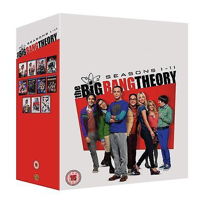 The Big Bang Theory Seasons 1 - 11 [DVD] NEU Staffel Season Komplette Serie