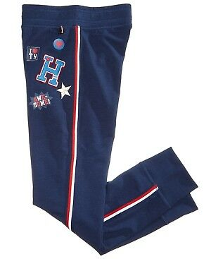 Tommy Hilfiger Embroidered Patch Jogger Sweatpants (Girls)