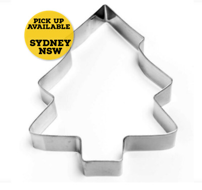 Cookie Cutter Christmas Tree Large Stainless Steel