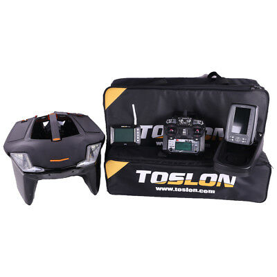 Toslon X Boat 730 With X Pilot GPS And TF640 Fish Finder NEW Carp Fishing Boat