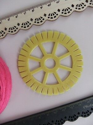 * RARE KUMIHIMO BRAIDING CORD DISK for WEAVING RARE Jewelry Making 32 Sides *