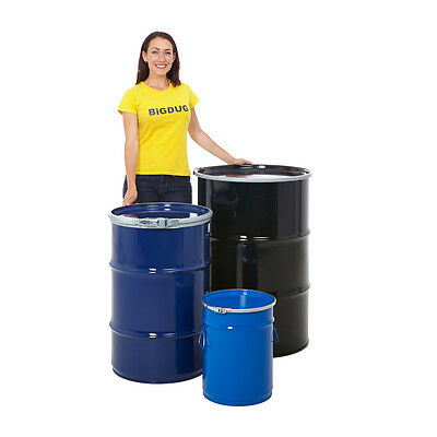 Open Top Steel Drum Barrel Container