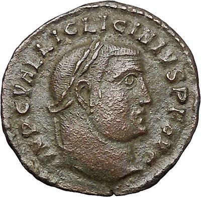 Licinius I Constantine The Great enemy 312AD Ancient Roman Coin Jupiter i48036