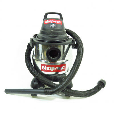 Shop-Vac 5 Gallon 4.5 Peak HP Stainless Steel Wet Dry Vac 4045AH
