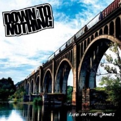 Down To Nothing - Life on the James - Lim. Edt. Blue Vinyl -mint Con. -