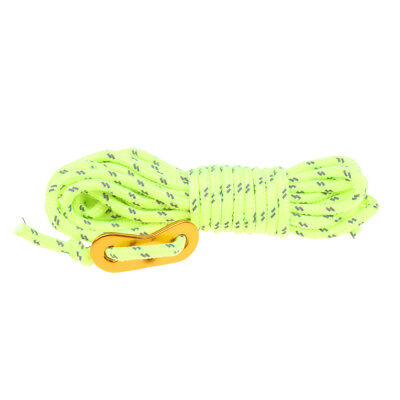 4mm Reflective Tarp Tent Rope Guy Line Cord Outdoor Camping Hiking Durable