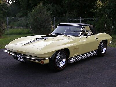 1967 Chevrolet Corvette CONVERTIBLE 1967 CORVETTE CONVERTIBLE 427, ALL MATCHING NUMBERS AND DOCUMENTED.
