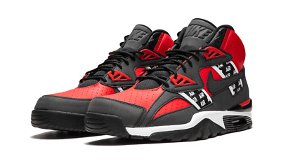 online retailer 33af3 5ebf7 NEW MEN'S NIKE Air Trainer Sc High Soa Speed Red/black-White {Aq5098 ...