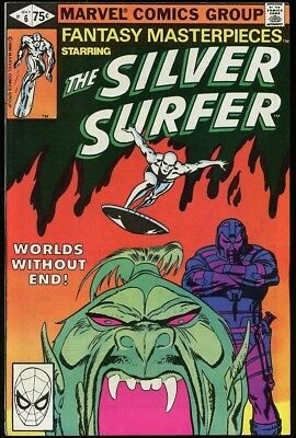 Fantasy Masterpieces The Silver Surfer #6 Worlds Without End Marvel 1980 n-mint
