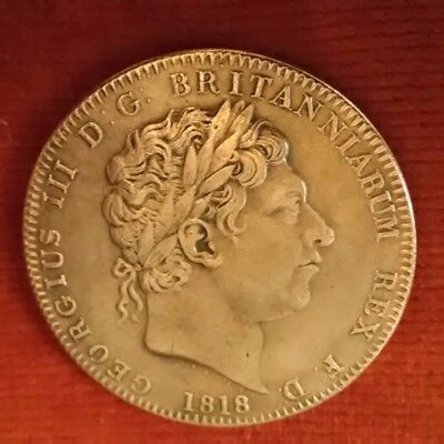 King George lll Crown Coin 1818 (reproduction).