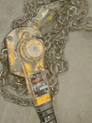 Harrington 2 Ton Lever Chain Hoist
