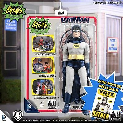 Toycade EXCLUSIVE Vote For Batman 1966 TV Batman 66 Classic Adam West variant