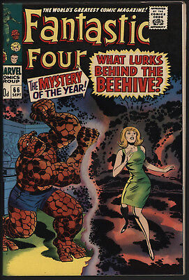 Fantastic Four 66, Tight Structure, Off White/ White Pages