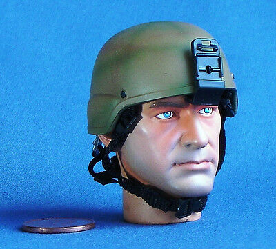 1:6 Scale Action Figure US ARMY MICH US COMBAT HELMET IRAQI DESERT ACH TC-2000