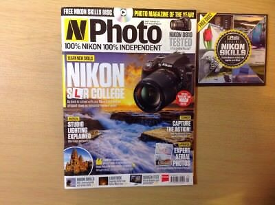NPhoto  issue 37 September 2014 with DVD Nikon