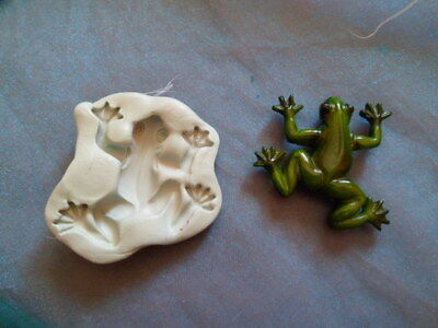 Moule Silicone  Grenouille   Pour Fimo Wepam