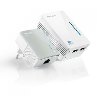 Tp-Link Tl-Wpa4220Kit Starter Kit Powerline Av600 Wireless N 300Mbps
