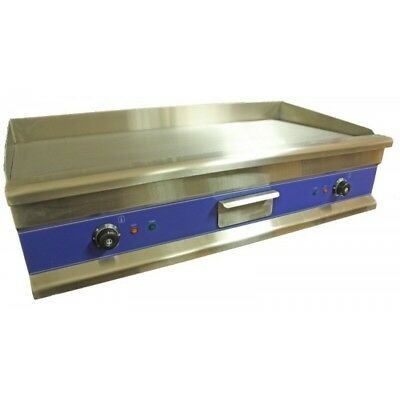 Large Electric Griddle / Hotplate 100cm Flat Commercial Grade Stainless Steel