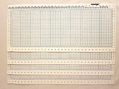 for 24-stitch Pattern Punch Card  Knitting machine Brother//SK//LK 10 Grid Paper