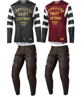 2019 Shift BLACK Caballero X Lab Jersey Pant Combo - Dirt Bike Off Road Adult MX