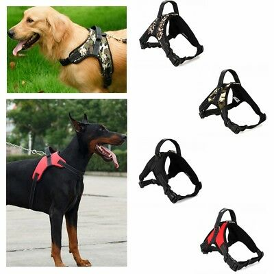 Pet Dog Puppy Vest Harness Leash Collar Set No Pull Adjustable Large Small S-XL